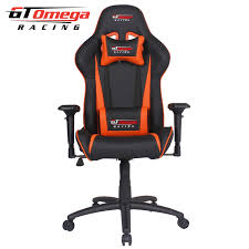 Gaming Seats GT Omega PRO Racing fice Chair Black Next Orange