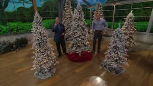 Qvc Christmas Trees Uk by Bethlehem Lights Woodland Pine Christmas Tree With Instant Power