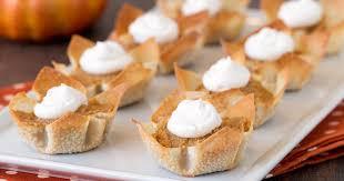 Skinnytaste Pumpkin Pie by Healthy Mini Pumpkin Pies Recipe Hungry