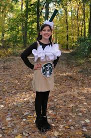 Sue At Home Starbucks Latte Costume