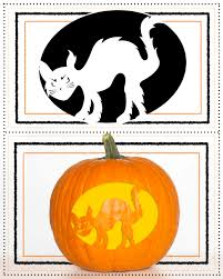 Cheshire Cat Smile Pumpkin Template by Pumpkin Stencils For Carving The Best Jack O Lantern Woman U0027s World