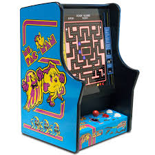 Bartop Arcade Cabinet Plans by Amazon Com Namco Ms Pacman And Galaga Bartop Home Arcade Game