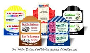 Low Tech Business Card Holder Good Ideas Are A Dime Dozen But