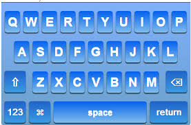 iOS 7 Keyboard Cool Blue TheBigBoss iPhone software apps