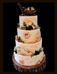 212 Best Rustic Woodland Themed Cakes Images On Pinterest
