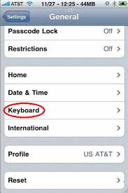 Languages on iPhone