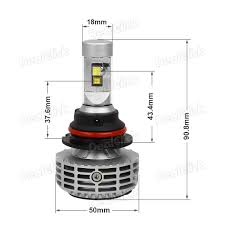 Philips Lamps Cross Reference by Broview M5 9007 Hb5 6000lm Cree Philips Led Light Bulbs High Low
