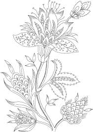 Lovely Adult Coloring Pages Flowers 72 For Your Download With