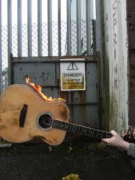 Hudson Taylor Aged Guitar