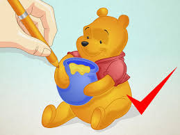 16 Best Winnie The Pooh by How To Draw Winnie The Pooh 15 Steps With Pictures Wikihow