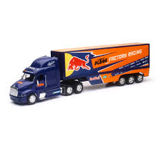 New Ray 1:32 Scale Peterbilt Red Bull KTM Race Team Truck