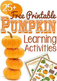 Printable Pumpkin Books For Preschoolers by Free Pumpkin Printable Learning Activities