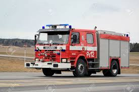 100 Old Fire Trucks SALO FINLAND MARCH 22 2015 Classic Scania Truck Rushes