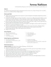 Entry Level Project Manager Cover Letter