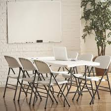 Cosco Deluxe 6 Foot Fold-in-Half Folding Table $46.73 ... Raven Farmhouse 6piece Ding Set The Dump Luxe Fniture 132 Inch Round Satin Tablecloth Black 6 Foot Farm Table Kountry Kupboards With 8 Chairs Foot Cedar Table Steves Creations Correll 30w X 72l Ft Counter Height 36h 34 Top Highpssure Laminate Folding Lifetime Foldinhalf White Granite 6foot Plastic Traing 2 Trapezoidal Back Stack Chairs Details About Portable Event Party Indoor Outdoor Weatherproof Buffet New Vintage Oak Refectory Kitchen And In Brnemouth Dorset Gumtree Banquet Seating Decor How To Up For Holiday Parties Lerado 6ft Foldin Half Rect Table Raptor Concept Store