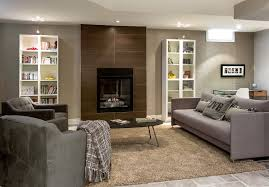 Basement Window Ideas Contemporary With Accent Wall Area Rugs