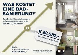 das kostet das deutsche durchschnitts bad haustec