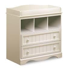 Sorelle Dresser French White by Thomasville Southern Dunes 3 Piece Nursery Set Lifestyle Crib
