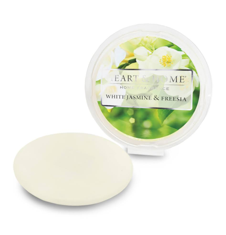 Heart & Home Wax Melt - White Jasmine & Freesia