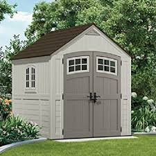 Rubbermaid 7x7 Gable Storage Shed by Amazon Com Suncast Bms7790 Cascade 7x7 U0027 Storage Shed Suncast