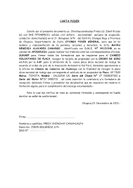 Carta Poderu003d Williams Rodriguez