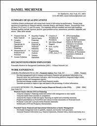 Resume Templates Entry Level Business Analyst Examples Of Resumes Template