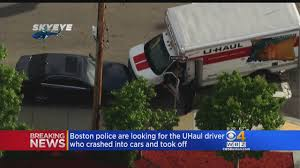 Police Look For U-Haul Driver Who Crashed Into Cars « CBS Boston Uhaul About Rental Depot In West Roxbury Mass Adds Rentals Where Are People Moving Storage Plus Boston Safemove Or Coverage Series Moving Insider Project Will Big Improvement Guilford Officials Say News Sukkah Mobile With Live Tracker Jewishboston Truck Uhaul Sizes Of North Seattle 16503 Aurora Ave N Shoreline Wa 98133 Ypcom Spartanburg 345 Whitney Rd Why The May Be The Most Fun Car To Drive Thrillist 6x12 Cargo Trailer Features Youtube