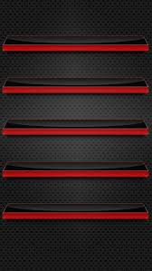 Black and Red Glass Shelves Wallpaper Free iPhone Wallpapers
