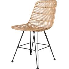 rattan chair hk living woo design esszimmerstuhl