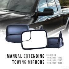 Look Pickup Truck Towing Mirrors Extended Towing Mirrors For Pickup ...