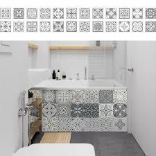 fliesenaufkleber mosaik fliesen deko tapeten selbstklebende