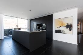 traumküche schwarz matt emme die schweizer küche