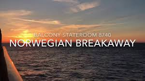 Breakaway Deck Plan 13 by Norwegian Breakaway Balcony Stateroom 8740 Youtube