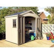6x8 Plastic Storage Shed by Decorating High Store 4 Ft X 2 Ft X 5 Ft Resin Vertical Storage