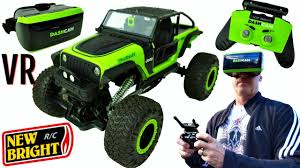 100 New Bright Rc Trucks RC DashCam JEEP With VIRTUAL REALITY Headset YouTube