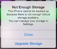 how to fix when iCloud Storage is not enough on iPhone 6S
