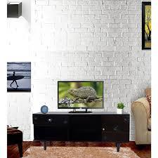 55 Inch Portable Detachable LED Light High Gloss TV Unit
