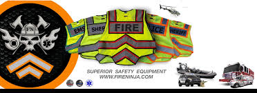FIRE NINJA SAFETY EQUIPMENT - Safety Equipment, Safety Vest ...