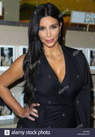 Kim Kardashian West Attends Book Signing For Event