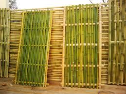 100 Bamboo Walls Beautiful Wall Panels With Natural Fence Panels Design