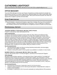Core Qualifications Examples For Resume Trend