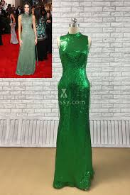 celebrity green dresses for women celebs inspired green formal