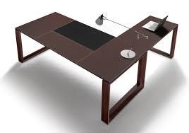 bureau en cuir bureau direction cuir au design élégant littoral à découvrir