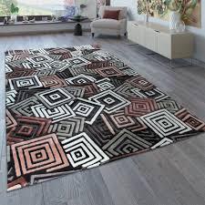 design teppich wohnzimmer abstraktes muster