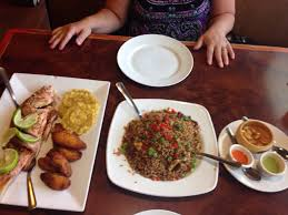 El Patio Restaurant Fort Myers Florida by Fried Red Snapper With Tostones And Plantains And Peruvian Fried