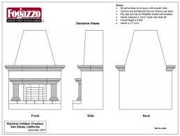 7 Outdoor Fireplace Plans Sensational Idea Homeca
