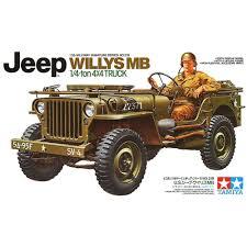 Willys MB Jeep Model Kits -1/35 Scale – Bernard Goldman