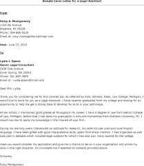 Legal Assistant Resume Cover Letter Secretary My Document Blog Law Example