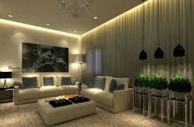 modern living rooms with lighting fixtures top