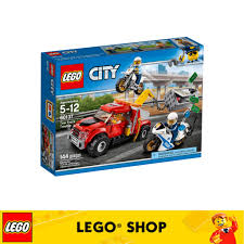 Belrion 60137 LEGO City Police Tow Truck Trouble | Shopee Singapore